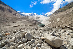Swiss Alps Glacier Nature Trail Royalty Free Stock Photo