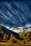 Swiss Alps HDR Royalty Free Stock Photos