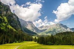 Swiss Alps landscape Royalty Free Stock Image