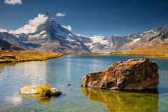 Swiss Alps. Royalty Free Stock Photography