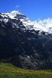 Swiss Alps. Landscape near Interlaken in Europe Royalty Free Stock Images