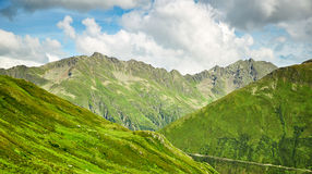 Swiss Alps landscape Stock Photos