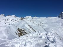 Swiss Alps landscape. Snowy mountain range stock photos