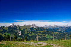 Swiss Alps Landscape Stock Image