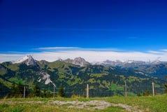 Swiss Alps Landscape Stock Image
