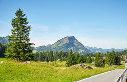 Swiss Alps landscape Stock Photography