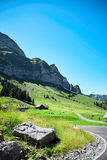 Swiss Alps landscape Royalty Free Stock Image