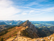 Swiss Alps in Lucerne Region Royalty Free Stock Photography
