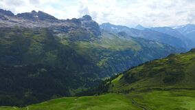 The Swiss Alps at Melchsee Frutt
