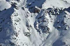 Swiss Alps: Mont Gele Stock Images