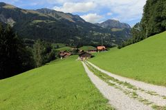 Swiss alps Stock Images