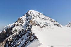 Swiss Alps mountain range, Jungfraujoch, Switzerland Stock Photography