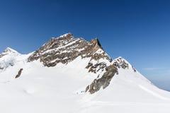 Swiss Alps mountain range, Jungfraujoch, Switzerland Stock Photo