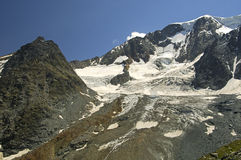 Swiss Alps Mountains Stock Photo