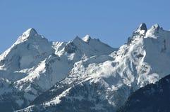 Swiss Alps the Muverans Stock Photo