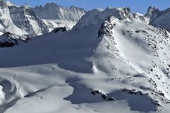 Swiss Alps. The Rosablanche Royalty Free Stock Images