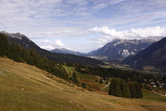 Swiss Alps scenery Stock Photos