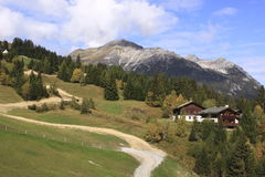 Swiss Alps scenery Royalty Free Stock Photos