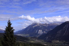 Swiss Alps scenery Royalty Free Stock Photography