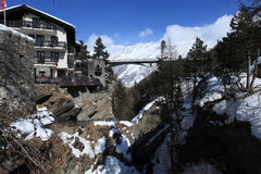 Swiss Alps Scenic royalty free stock photos