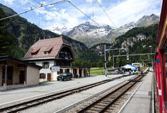 In Swiss Alps Stock Photos