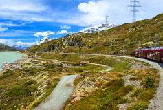 In Swiss Alps Stock Images