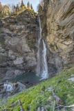 In Swiss alps Stock Photo