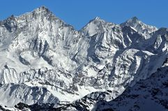 Swiss Alps Weisshorn Royalty Free Stock Image