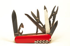 Swiss army knife Royalty Free Stock Photos