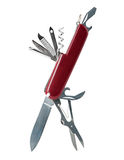 Swiss army knife Royalty Free Stock Images
