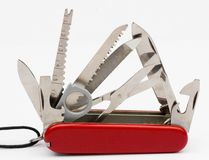 Swiss army knife Stock Photos