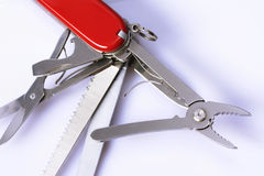 Swiss army knife Royalty Free Stock Photography