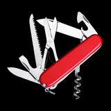 Swiss Army Knife Isolated Stock Photography