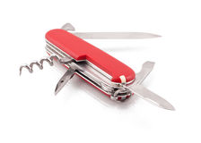 Swiss army knife Royalty Free Stock Photo