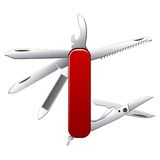 Swiss army - Penknife Royalty Free Stock Photography