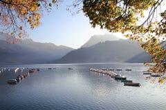 Swiss Autumn Lake 1 Stock Photography