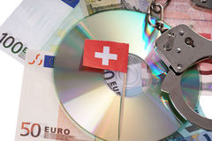 Swiss Bank Account Stock Image