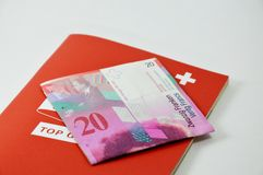 Swiss banknote Royalty Free Stock Photo