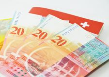 Swiss banknote Stock Image