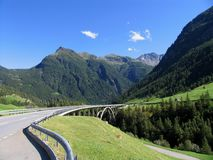 Swiss beauty, near Simplon pass Royalty Free Stock Photo