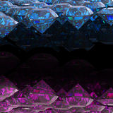 Swiss blue topaz and amethyst .Jewelry background Royalty Free Stock Photography