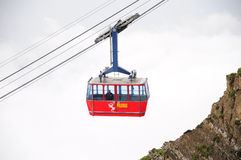 Swiss cable car. Stock Image