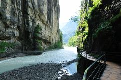 Swiss Canyon Royalty Free Stock Photography