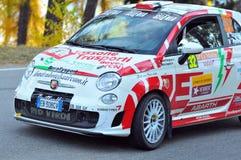Swiss Car Rally Royalty Free Stock Image