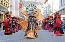 Swiss Carnival 5 Stock Photography