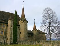 Swiss Castle 10 Royalty Free Stock Images