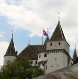 Swiss castle Stock Photography