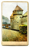 Swiss castle Stock Photos