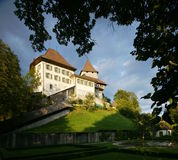 Swiss Castle royalty free stock photo
