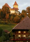 Swiss Castle Royalty Free Stock Photography